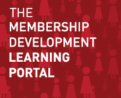 The Membrship Development Learning Portal is now LIVE