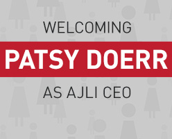 Welcome New AJLI CEO Patsy Doerr